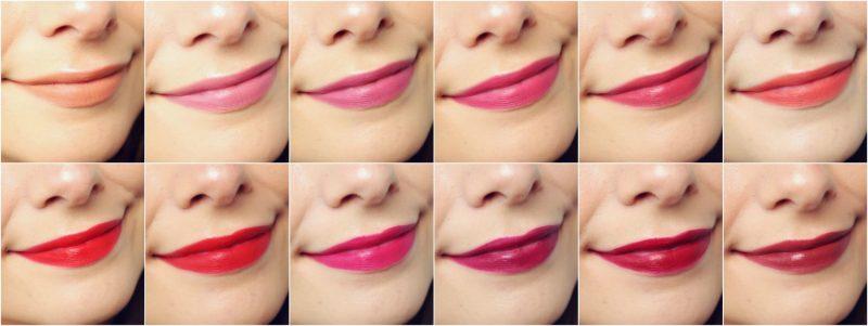 Bourjois Rouge Velvet Lipsticks